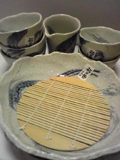 蕎麦器セット