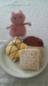 朝からクッキー♪