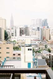 見慣れた新宿の景色
