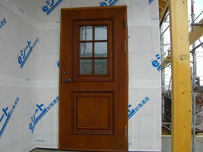 木製断熱玄関ドア