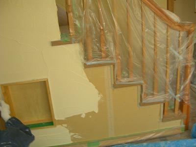 珪藻土の室内壁