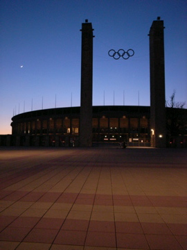 Berlin OlympiaStadion by Werner March (1936)