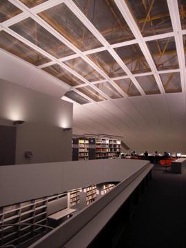 Library in Berilin uni membrane structure5