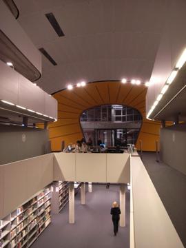 Library in Berilin uni membrane structure4