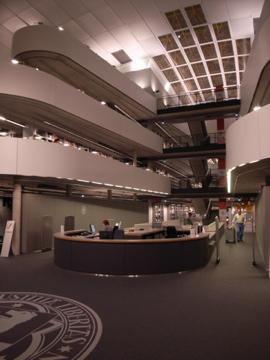 Library in Berilin uni membrane structure8