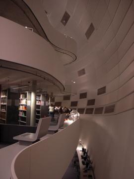 Library in Berilin uni membrane structure3