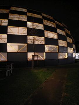 Library in Berilin uni membrane structure