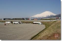 F1バス検証が行われた駐車場(P1)