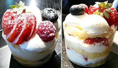 ミックスベリーのショートケーキ
