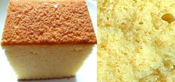 豆乳田舎ケーキ