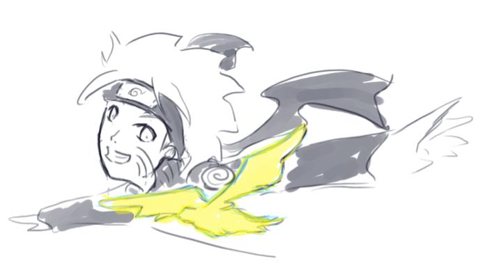 ナルトと鳥