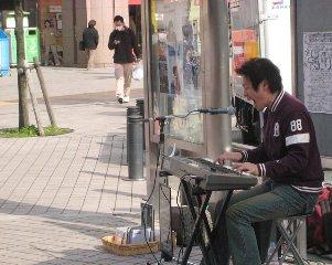 2008.04.05 亀有ストリートライブ1