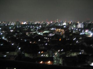 七夕の夜景