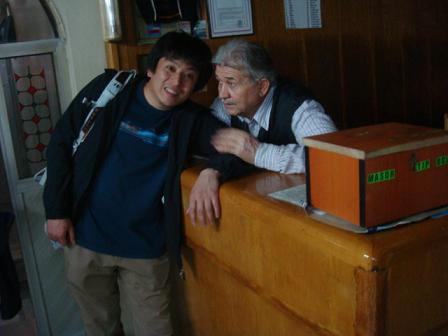 セルチュクのハマムのおやじ