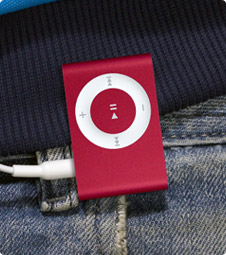 shuffle PRODUCT red