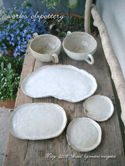 works of pottery