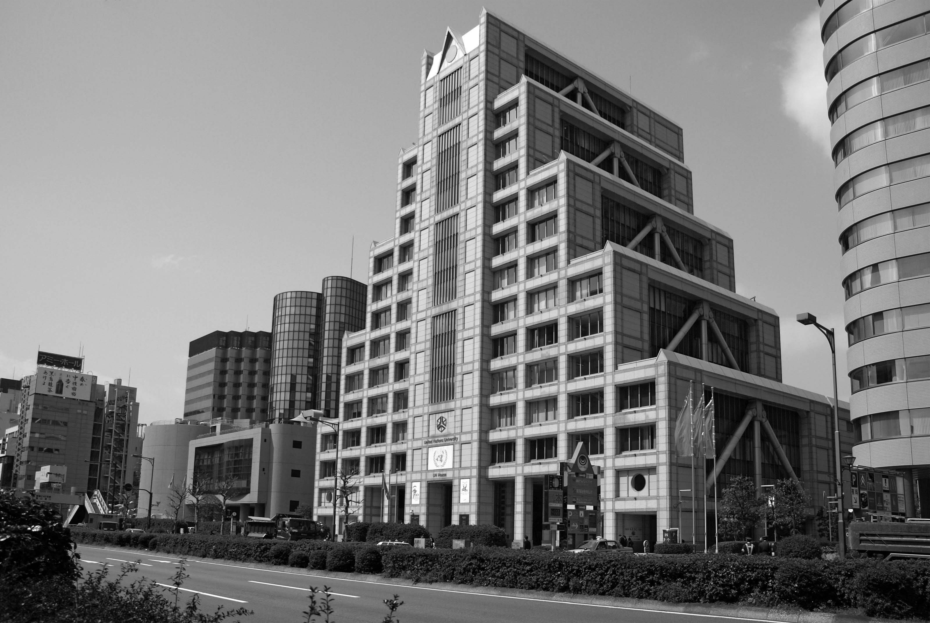国連事務所とウイメンズプラザとイルミナティーの合同庁舎