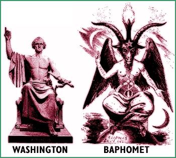 イルミナティーの象徴バールの悪神とアメリカの象徴