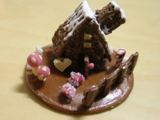 お菓子の家~♪