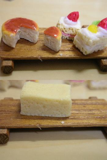 チーズケーキカット&イチゴショート