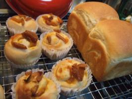 かぼちゃロール&食パン