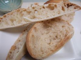失敗パンのスライス