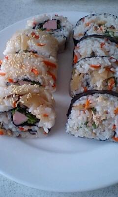 花見巻き寿司