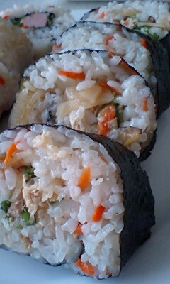 海苔ロール寿司