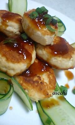 豆腐鶏つくねup
