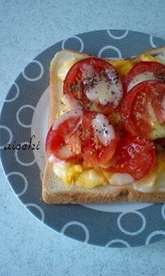 トマたまトースト
