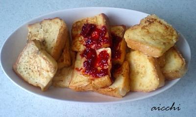 3種のフレンチトースト