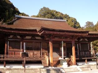 長弓寺 本堂
