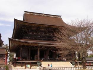 金峯山寺 本堂