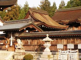 苗村神社 西本殿