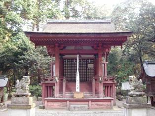 苗村神社 東本殿