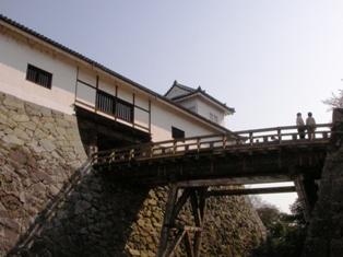 彦根城 天秤櫓と廊下橋