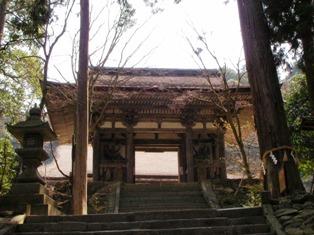 西明寺 二天門