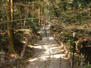 金剛輪寺 階段