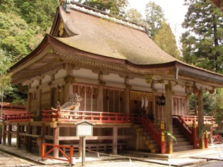 日吉大社 西本宮本殿