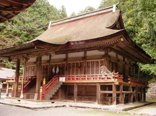 日吉大社 東本宮本殿