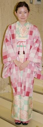 ピンクの足袋のお客さま