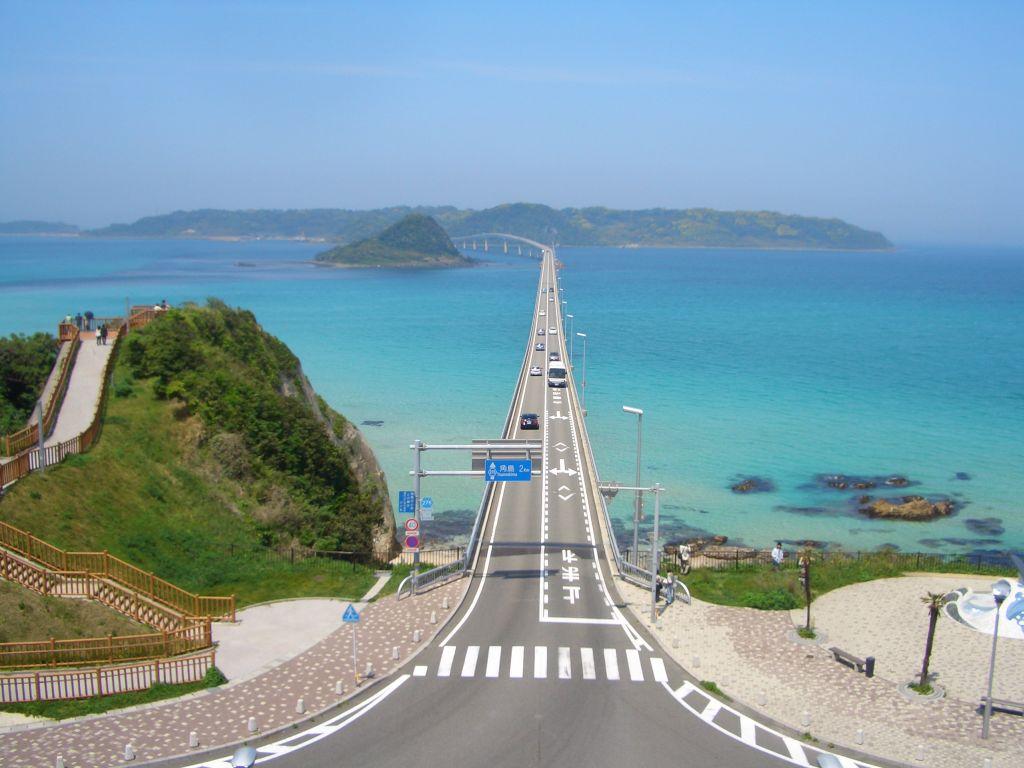 通行料は無料 : 日本一美しい橋 山口県 角島大橋 - NAVER まとめ