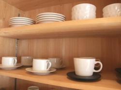 コーヒーカップ棚
