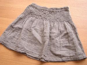 スモッキングスカート・2