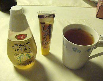 生姜はちみつ紅茶