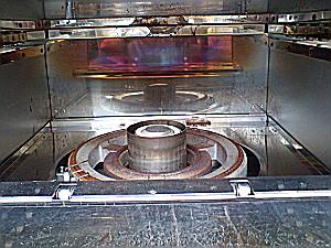 炊飯器内部