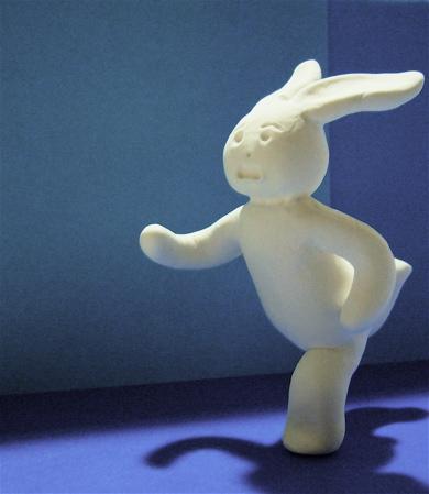 走るウサギ2