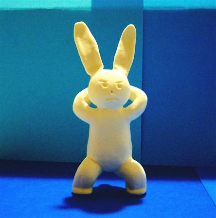スクワットウサギ1