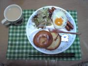 ガッツリ朝ご飯