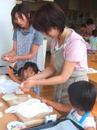 親子パン教室(7月30日)